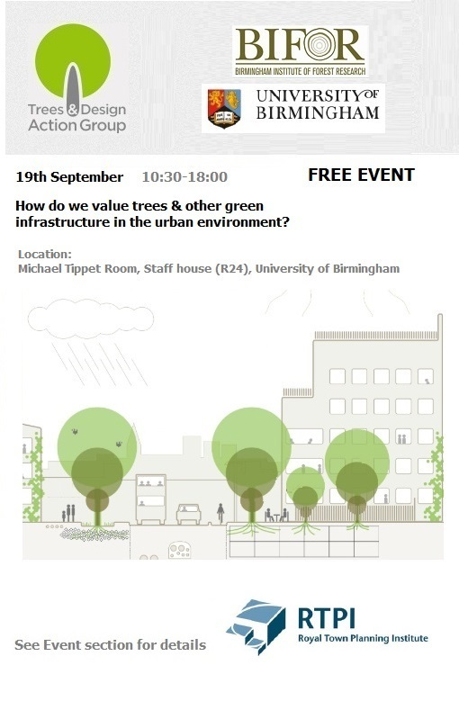 2018 – TDAG Value of trees & Green Infrastructure V3
