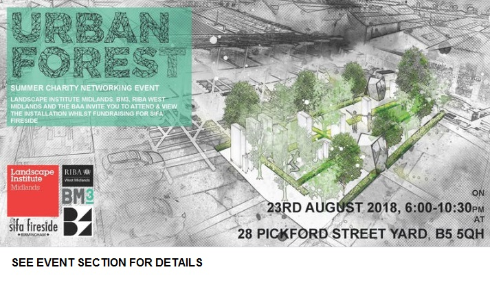 2018 – URBAN FOREST event